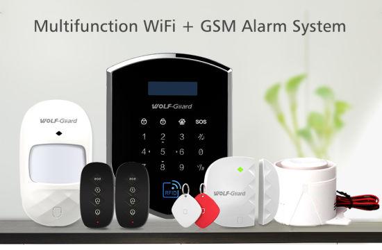 China 3G Security Alarm System WiFi Intruder DIY Wireless Home