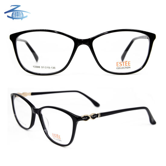 3d30f9b476 Latest Model Wholesale Price Acetate Spectacle Optical Glasses Frame for  Girl