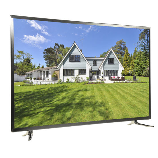 """Hot Sale, Aluminium Frame, Big Size 65"""" 4K UHD Smart LED TV with WiFi Function Can Play Youtube and Netflix for House and Hotel"""