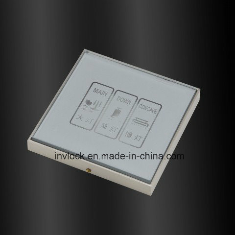 Tempered Glass Touch Screen Sensor Wall Switch pictures & photos