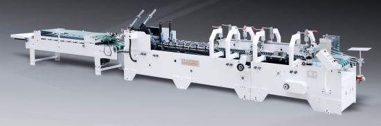 High Speed Pre-Fold Cardboard Box Folding Gluing Machine (GK-650BA)