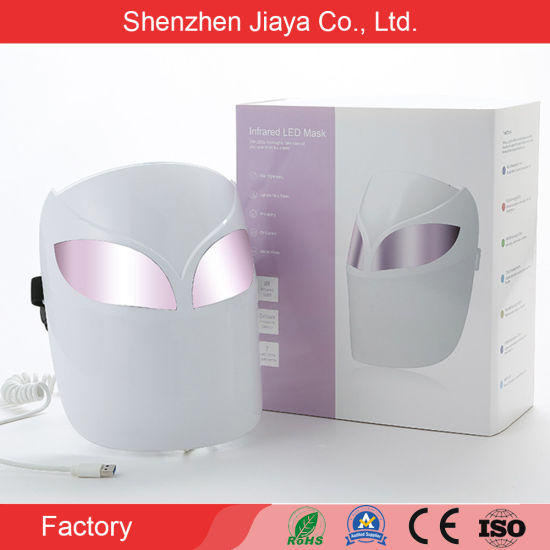 2021 Professional 7 Colors LED Phototherapy Beauty Mask PDT LED Facial Machine Light Therapy LED Face Mask