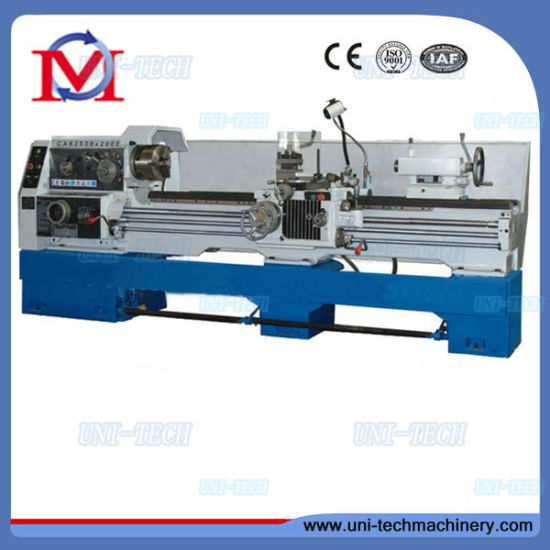 Mechanical Metal Gap Bed Lathe Machine (CA6250B) pictures & photos