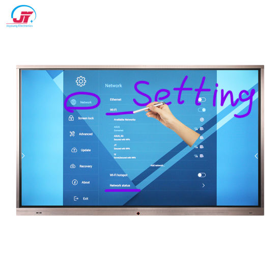 Electronic Infrared Touch Screen Portable Interactive White Board Smart Board Whiteboard