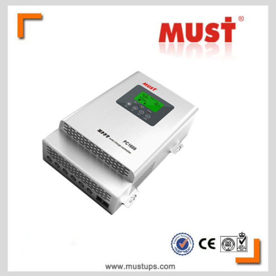 High Tracking Efficiency PC1600 MPPT Solar Charge Controller pictures & photos