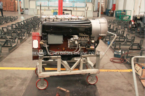 4 Stroke Air Cooled Diesel Motor Bf4l913 for Generator Set pictures & photos
