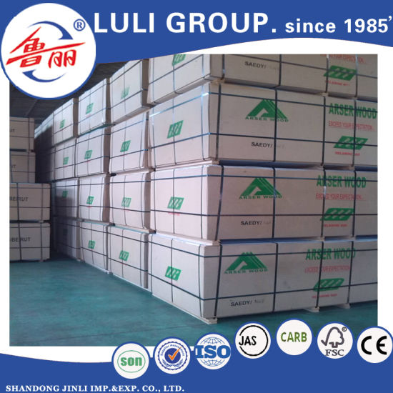 18mm Raw MDF/Plain MDF /Melamine MDF Board pictures & photos