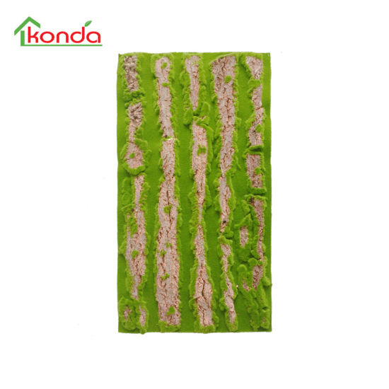 Hot Sale Artificial Stone Moss Green Grass Wall for Decoration