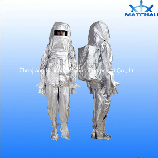 Fireman Heat Insulated Protective Suit