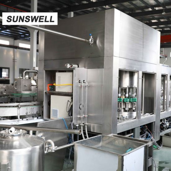 Wholesale Bottle Washing Capping Machine PE Bottle Dairy Products
