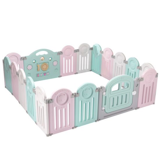 New Baby Playpen Kids Panel Safety Play Center Yard Home ...