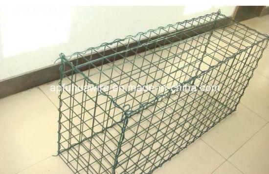 China Galvanized or PVC Gabion Box Factory/Hexagonal Wire Netting ...