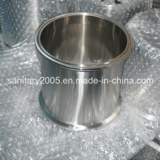 """6"""" Stainless Steel Tri-Clamp Spool with Base Plate"""