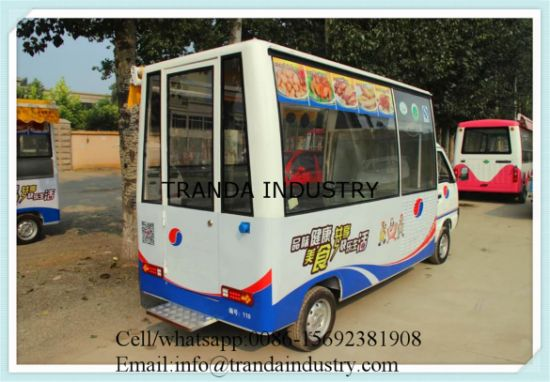 Fish Cripsham Burgers Carts Lovarock Grill Coffee Truck Made in China pictures & photos