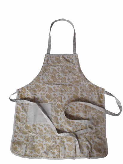 Logo Printed Customized High Quality Chef Aprons pictures & photos
