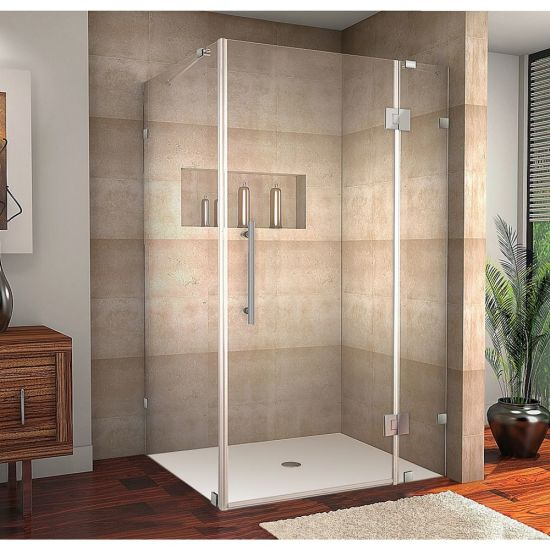 Jinghu China Factory 6-10mm Clear Colored Frameless Tempered Shower Door Glass Bathroom Furniture Glass