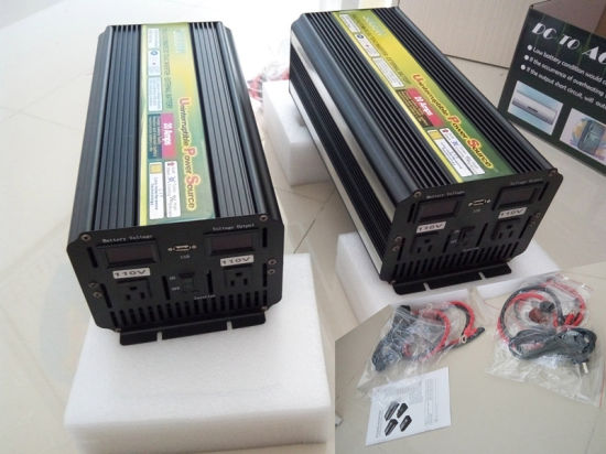 High Efficiency UPS Charger 3000W Car Power Inverter (QW-M3000UPS) pictures & photos