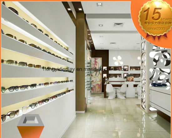 Glasses Store Interior Decoration, Brand Sunglasses Showcase pictures & photos