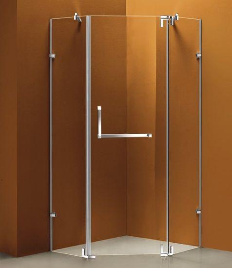 China Frameless Design Pivot Door Shower Cubicle Shower Cabin ...