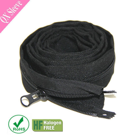 China Flexible Wire Cable Cover Sleeve with Zipper - China Cable ...