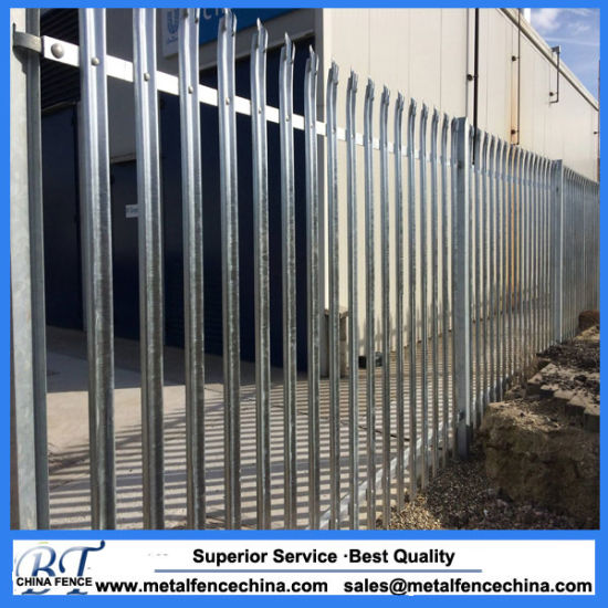 Pales with Angle, W & D Section Palisade Security Fencing for South Africa pictures & photos