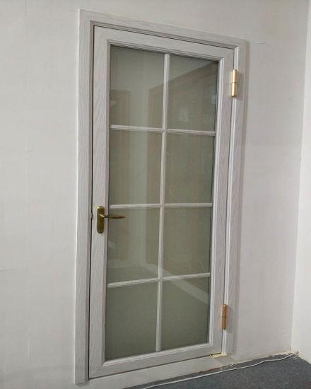 China Cast Aluminum Bedroom Glass Inserts Door Designs China