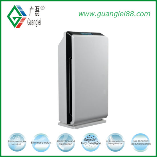 CE RoHS FC Ozone, Ion, UV, HEPA and Active Carbon Home Air Purifier Gl-8128 pictures & photos