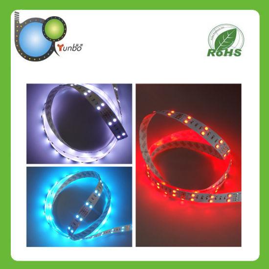 RoHS Colorful Waterproof Flex LED Strip Lighting