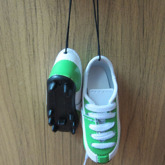 Promotion Gift of Sports Leather Shoe for Decoration
