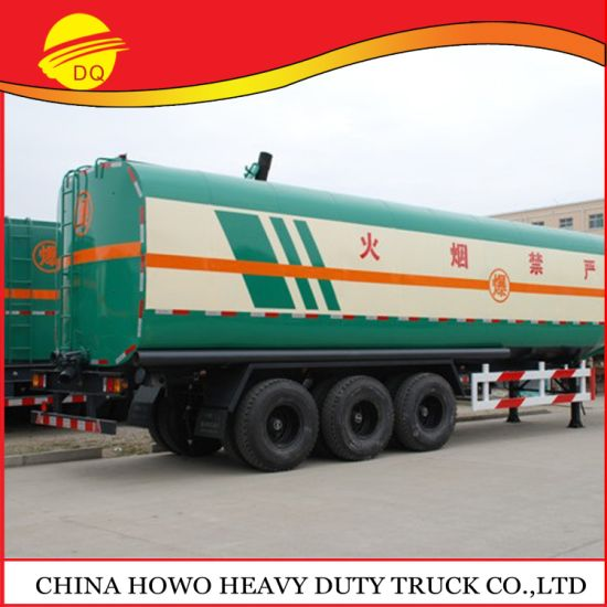 3 Axles 45000 Liters Petroleum Tank Trailers Price for Sale