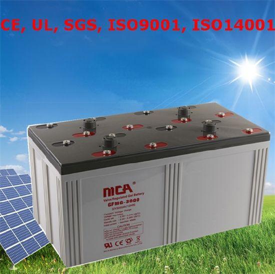 Good Quality Big Battery Battery 2V 3000ah Silicone Gel Battery 2V3000ah