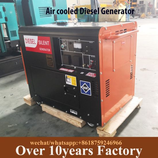 China Small Portable Home Office Silent Diesel Generator 10kva China Diesel Generator 10kva Portable Generator