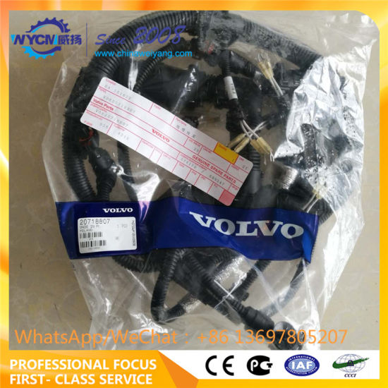 Marvelous China Wire Harness Voe20718807 For Volvo Excavator Ec210 Ec240 Wiring Cloud Hisonuggs Outletorg
