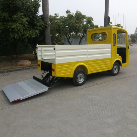 2 Seater Garbage Collecting Car Cargo Truck pictures & photos