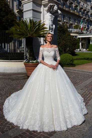 China Amelie Rocky Ball Gowns Bridal Lace Tulle Wedding Dress 2018 ...