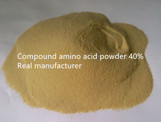 40% Compound Amino Acid Powder for Fertilizer pictures & photos