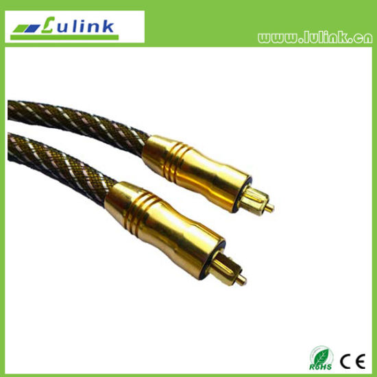 Cheap Customized Optical Fiber Toslink Cable pictures & photos