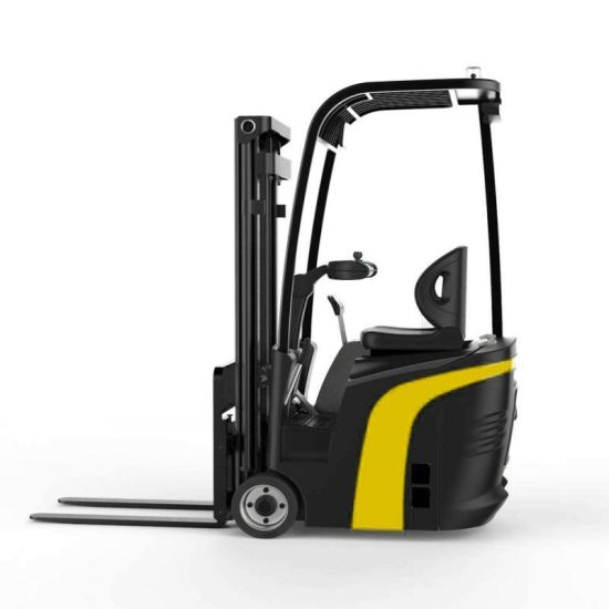 1.2ton Compact 3-Wheel Electric Forklift with 1200kgs Capacity