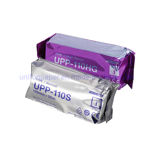 Medical Consumables Ultrasound Thermal Paper Roll Upp-110s Upp-110hg