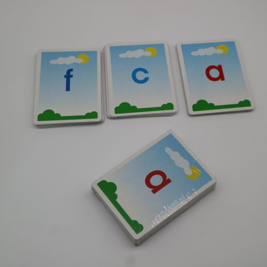 Customize Children Game Cards Educational Cards pictures & photos