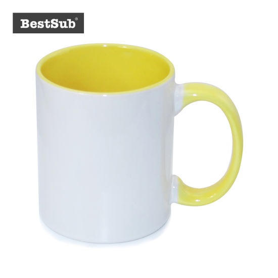 Bestsub 11oz Inner Rim Color Mug (B11T-03) pictures & photos