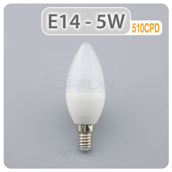 Candle Light Bulb C37 5W LED Bulb B15 pictures & photos