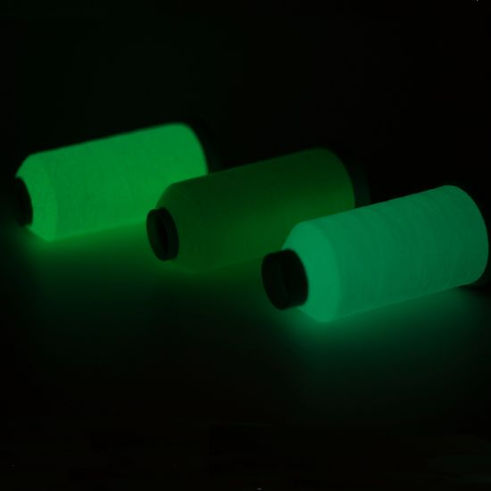 China Luminous Sewing Thread Glow In The Dark Absorbent Light Thread