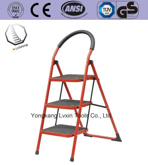 3 Steps Multipurpose Household Steel Ladder