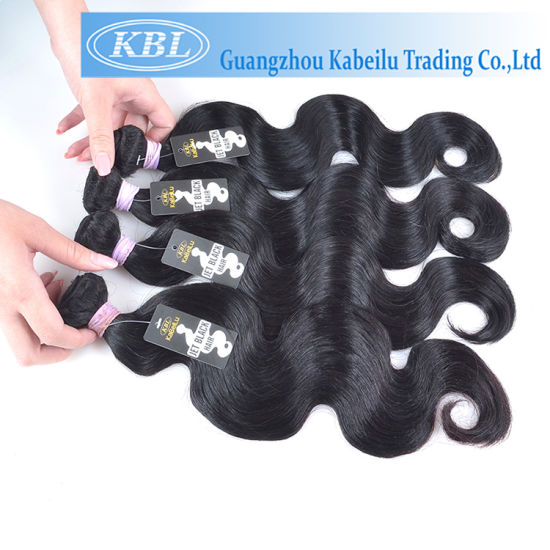 Brazilian Human Hair, Jet Black Hair pictures & photos
