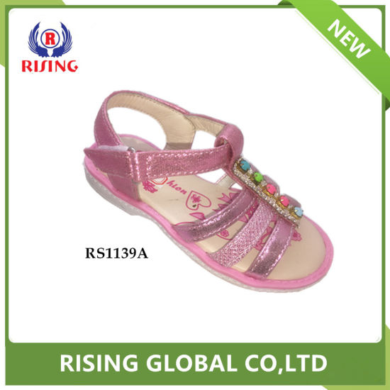 3e71c45118634a China Latest School Girl Cute Design Fashion TPR Sole Sandals ...