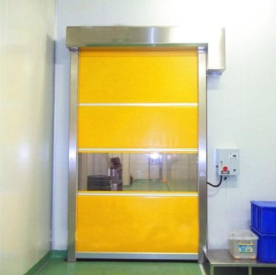 China Radar Sensor Automatic Ce Certificate High Speed Fabric Door for  Clean Room