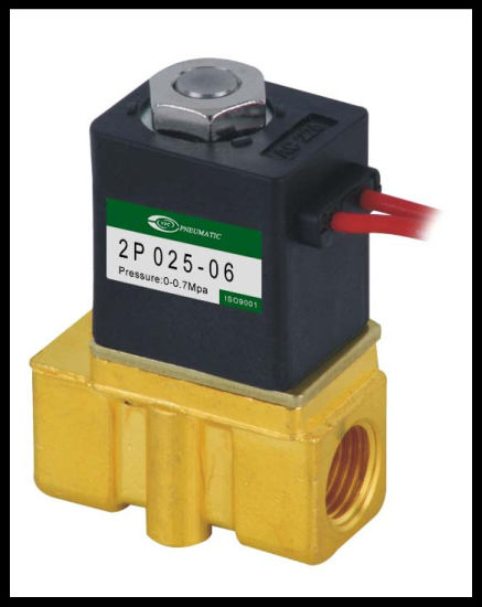 2p025-08 Plastic Solenoid Valve pictures & photos