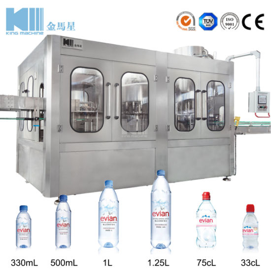 China Small Business Bottled Water Machine/Mineral Water Plant Cost