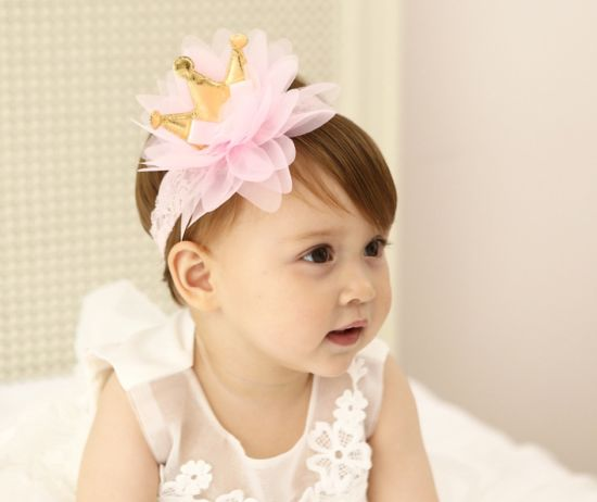 2017 Wholesale Fashion Baby Hair Accessories Flower Hair Band Bowknot Head Band pictures & photos